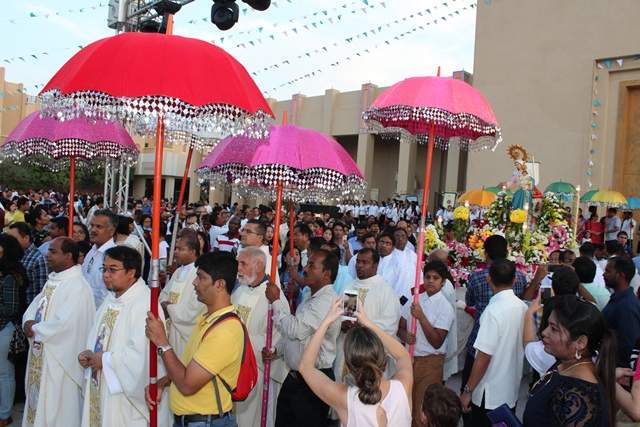 Doha: Feast of Our Lady of Rosary celebrated with great fervor