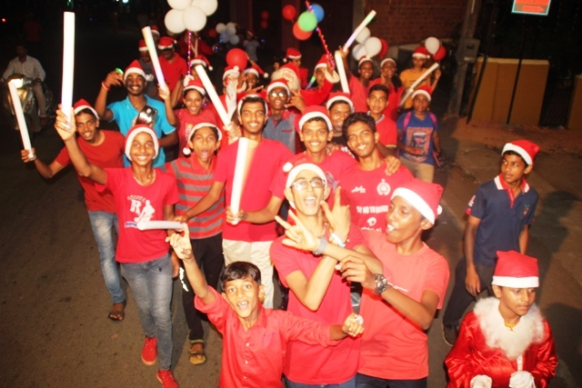 Funfilled Christmas Games and Brotherhood Procession at Kemmannu Church.