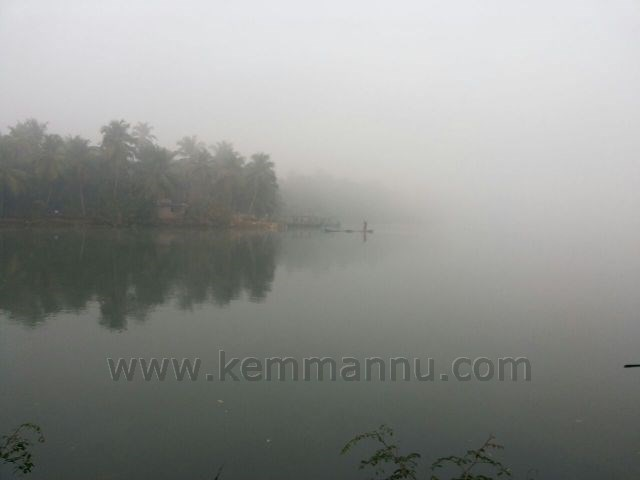 Pictorial report of the fog cover this morning in Kemmannu and Santhekatte.