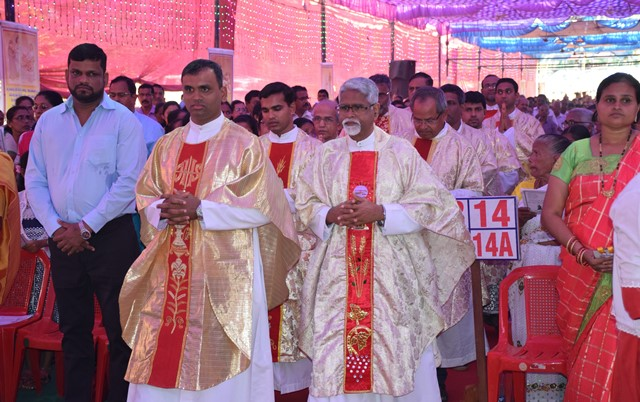 Feast Of Relic of St. Anthony, celebrate at Pakala,  Belman