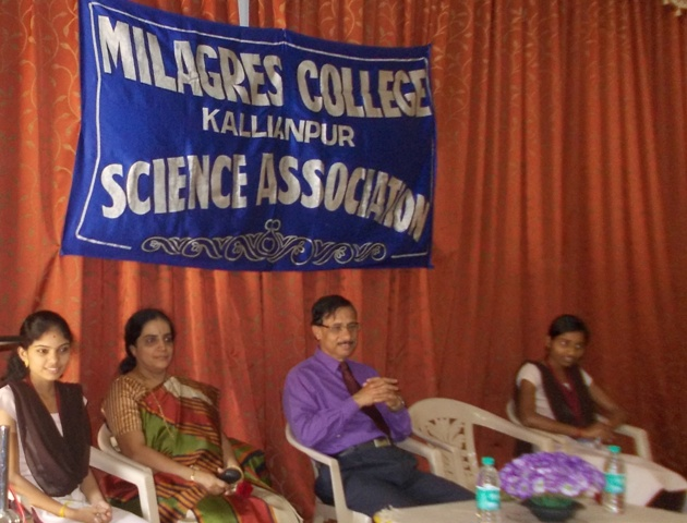 National Science day observed at Milagres College, Kallianpur