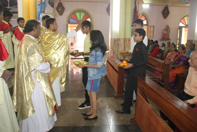 Patron Saint Theresa's Annual Feast Celebrated at Kemmannu.
