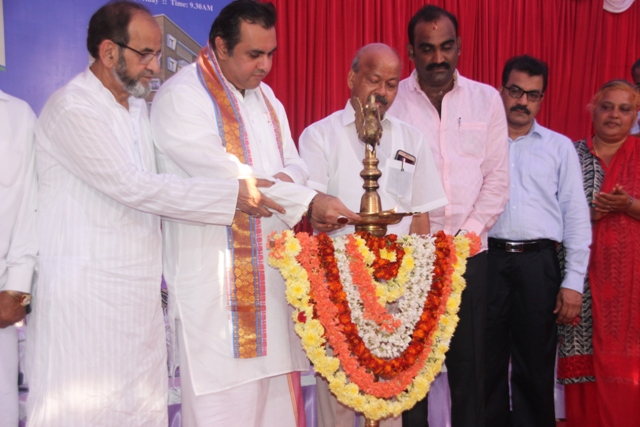 Foundation Stone laid for Nayaab Residency, Udupi.