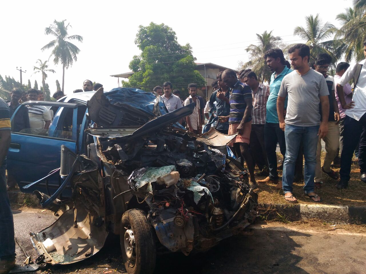 Mother and son killed in tragic accident at Kota, two seriously injured admits in Hospital
