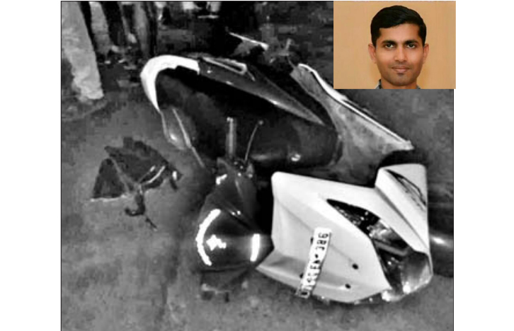 Lorry mows down youth riding scooter; another injured