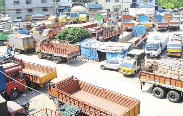 Lorry Strike Completes 7 Days on Wednesday in Karnataka