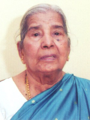 Obituary: Lucy Alex Mathais (96), Andheri, Mumbai.