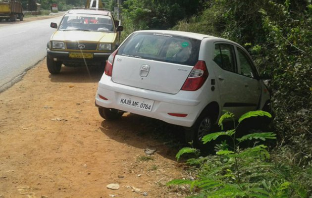 KSRTC Official Injure in Series of Road Accidents Near Puttur