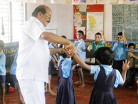 Govt. and Community should protect childrens right for edu :Laxminarayan