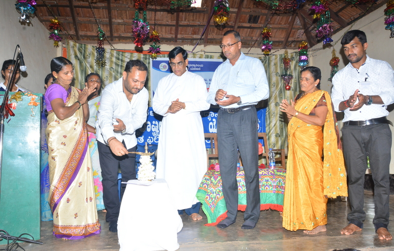 Inaguration of NSS Annual Special Camp held at St Philomena College, Puttur