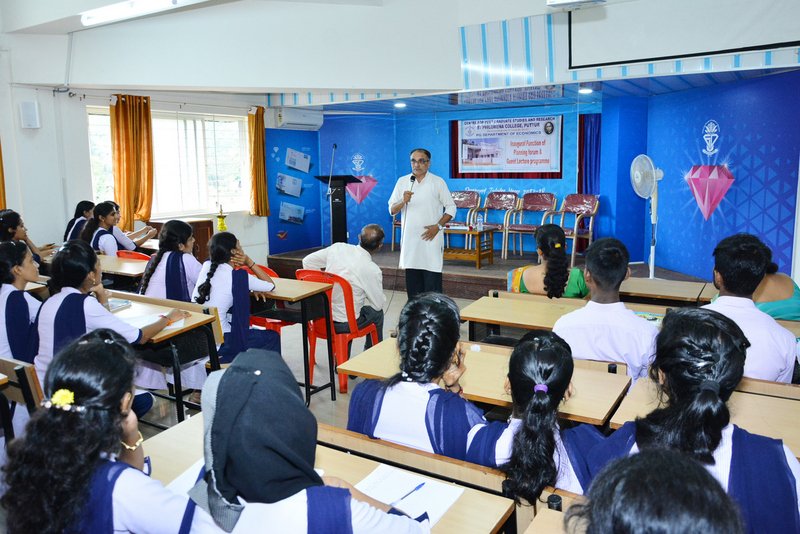 Guest lecture on Major Issues of Karnataka State
