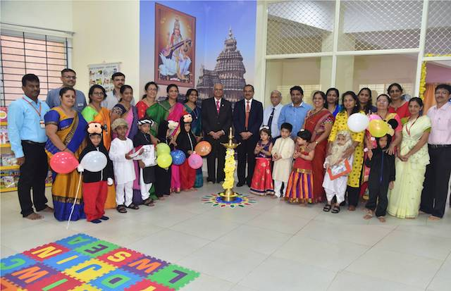 School are the Temples - Dr HS Ballal - Madhava Kripa School Pre Primary Library Inaugurated