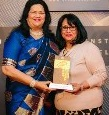 "Education Evangelist of the Year"" Award was conferred Grace Pinto, Managing Director, Ryan Group"