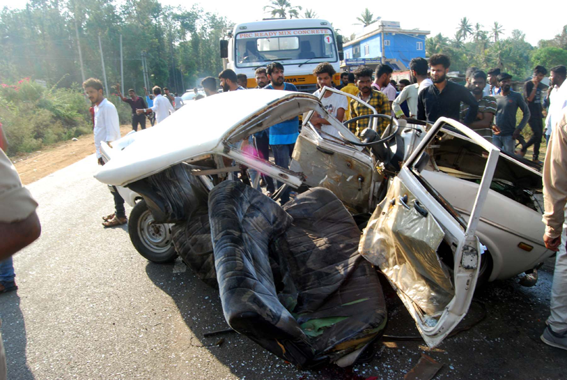 Lorry –car accident: Two dead