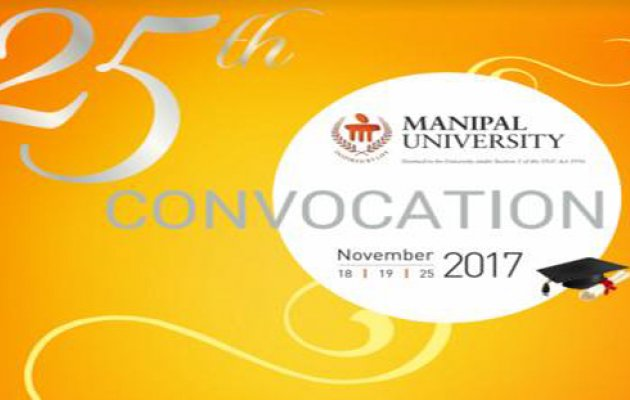 Manipal University Convocation to Begin from Nov 18; 3779 Students to Get Degrees