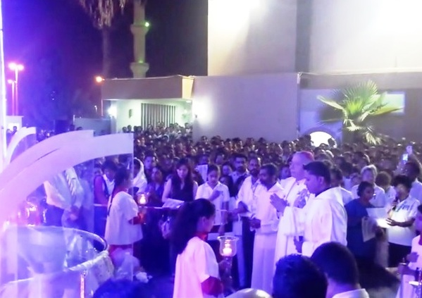Monthi Fest Celebrations at St. Joseph's Cathedral, Abu Dhabi