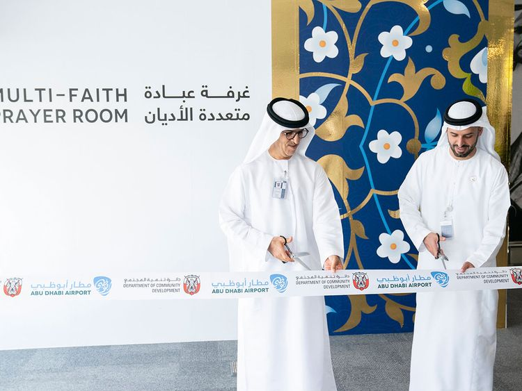 Abu Dhabi airport opens multi-faith prayer room
