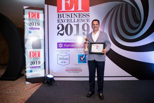 Muniyal Uday Kumar Shetty bags prestigious 'Economic Times - Business Icon Award'
