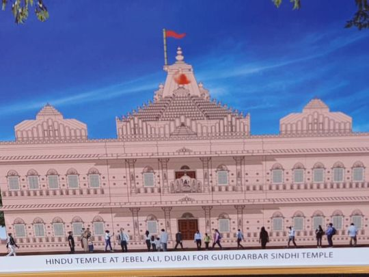 New Hindu temple to be built in Dubai's Jebel Ali area