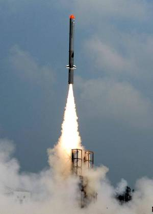 Indigenously developed long range subsonic cruise missile 'Nirbhay' test flown for 5th time