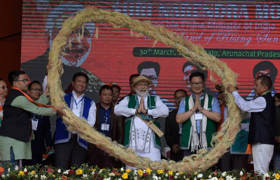 Opposition are 'disheartened by India's growth', says Modi