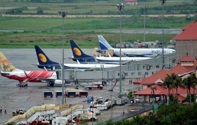 Air pistol, drugs found on airport premises