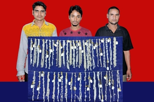 Five Nepali citizens arrested in Shiroor Gold Palace Jewellery theft case at Byndoor