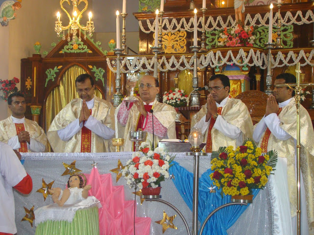 Solemnity of Mary, Mother of God & New Year Celebrated at Milagres
