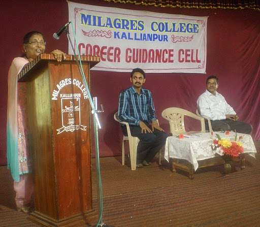 Career Guidance workshop at Milagres