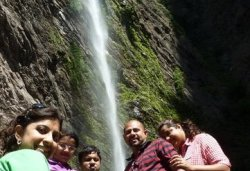 Travel: Kudlu Theertha Falls or first water fall of river Sita, Hebri/Udupi .