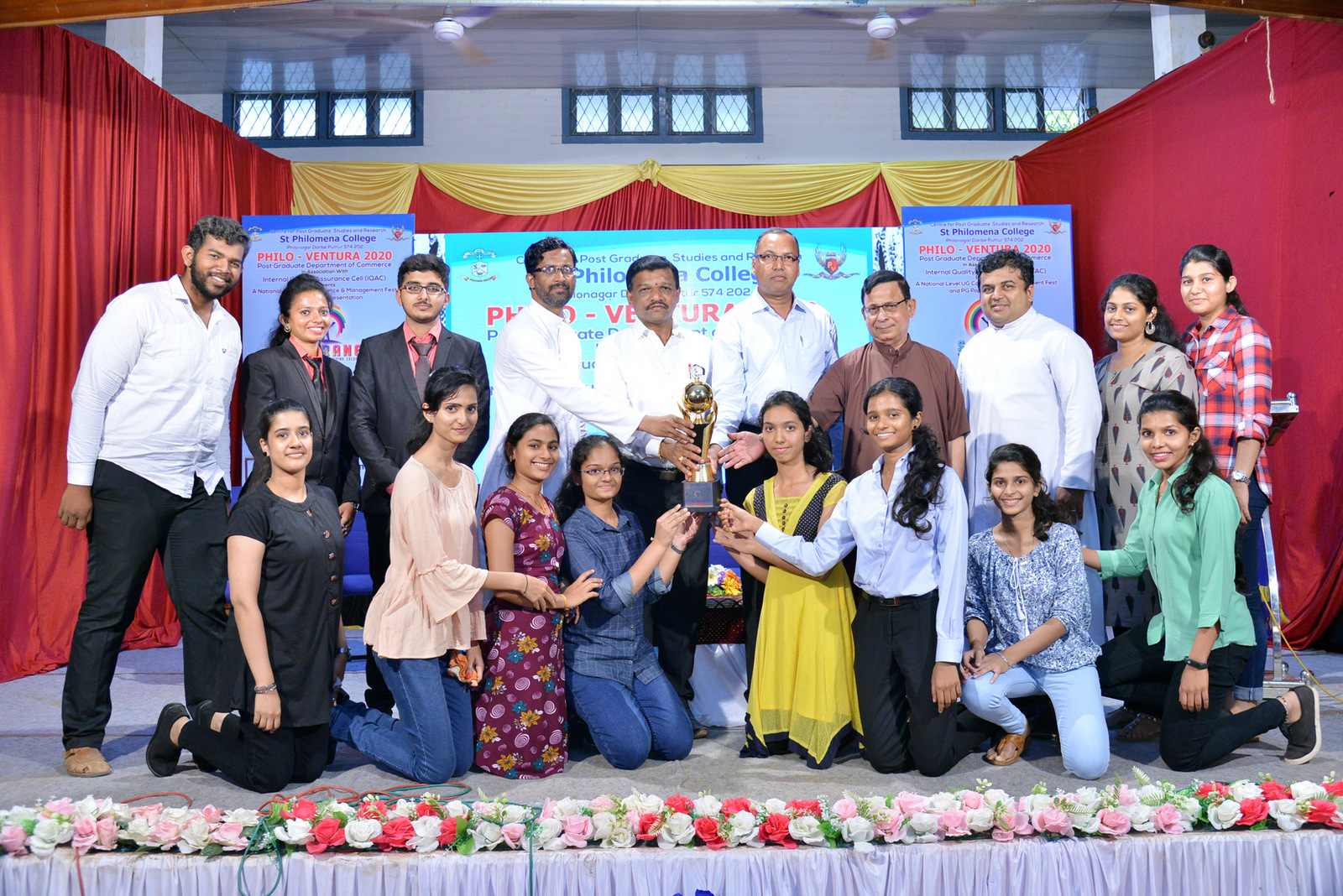 National Level UG Commerce and Management Fest and PG Paper Presentation 'PHILOVENTURA 2020' held at St Philomena College Puttur