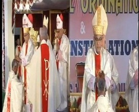 Dr Pius D'Souza of Agrar Installed as Bishop of Ajmer