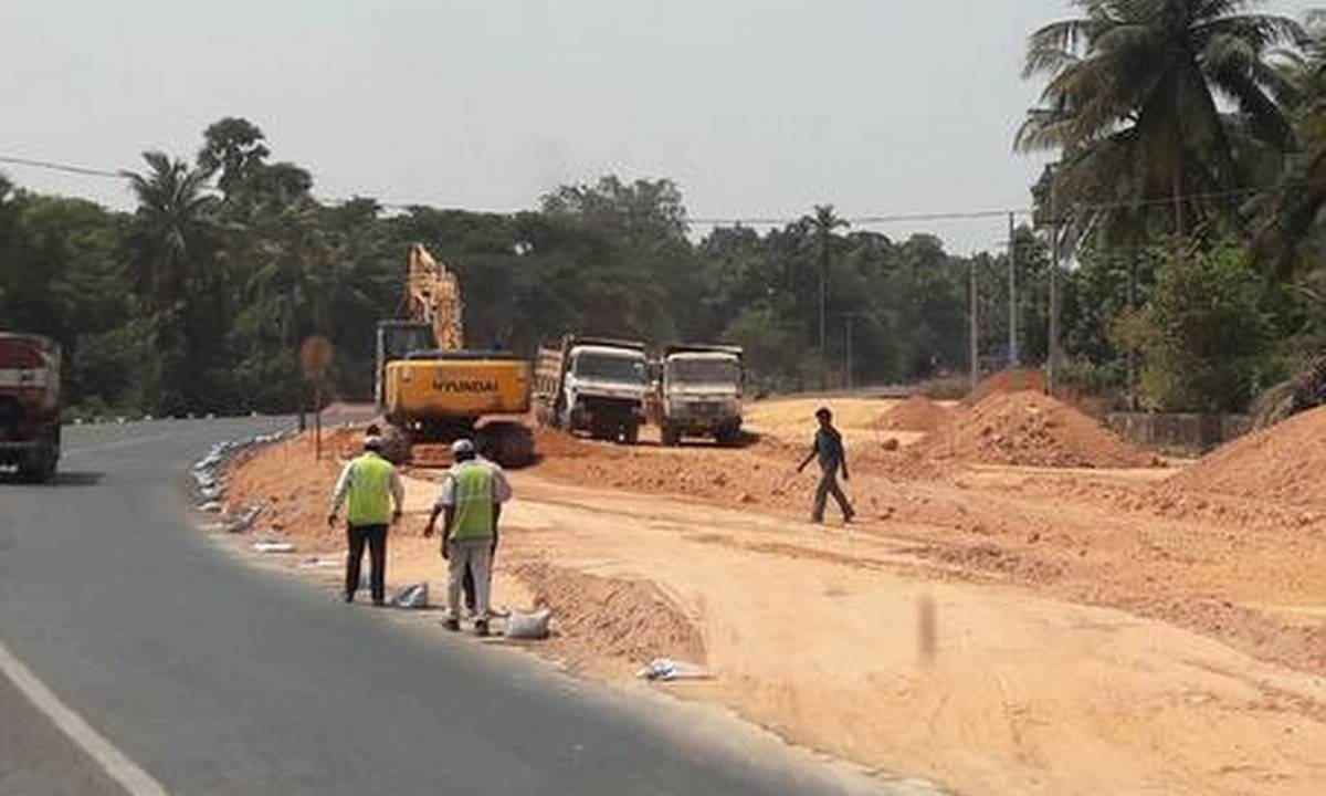 Incomplete highway work: Padubidri Bandh on January
