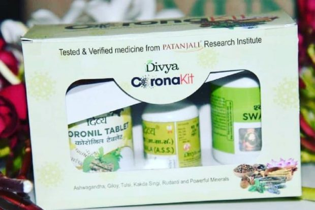 Ayush Ministry takes cognisance of Patanjali's claim; firm told to stop advertising COVID-19 meds