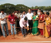 State level tennis ball cricket tourney inaugurated at Nejar/Santhekatte