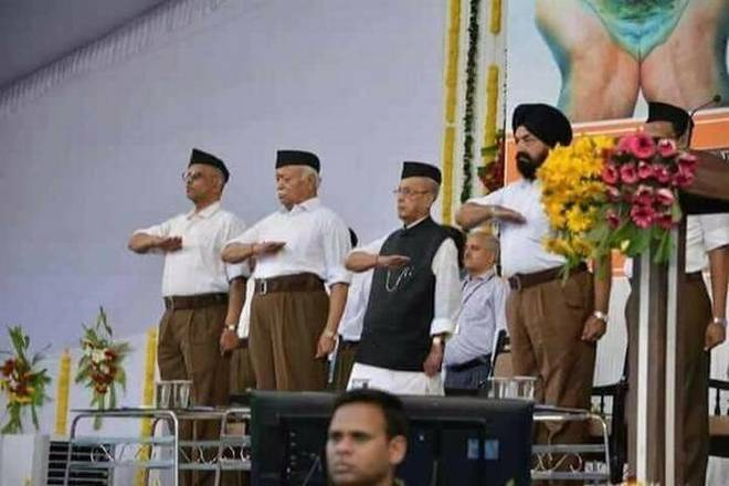 Pranab Mukherjee's morphed photo: RSS blames divisive political forces