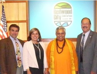 Redwood City Council in California had its 1st Hindu opening prayer