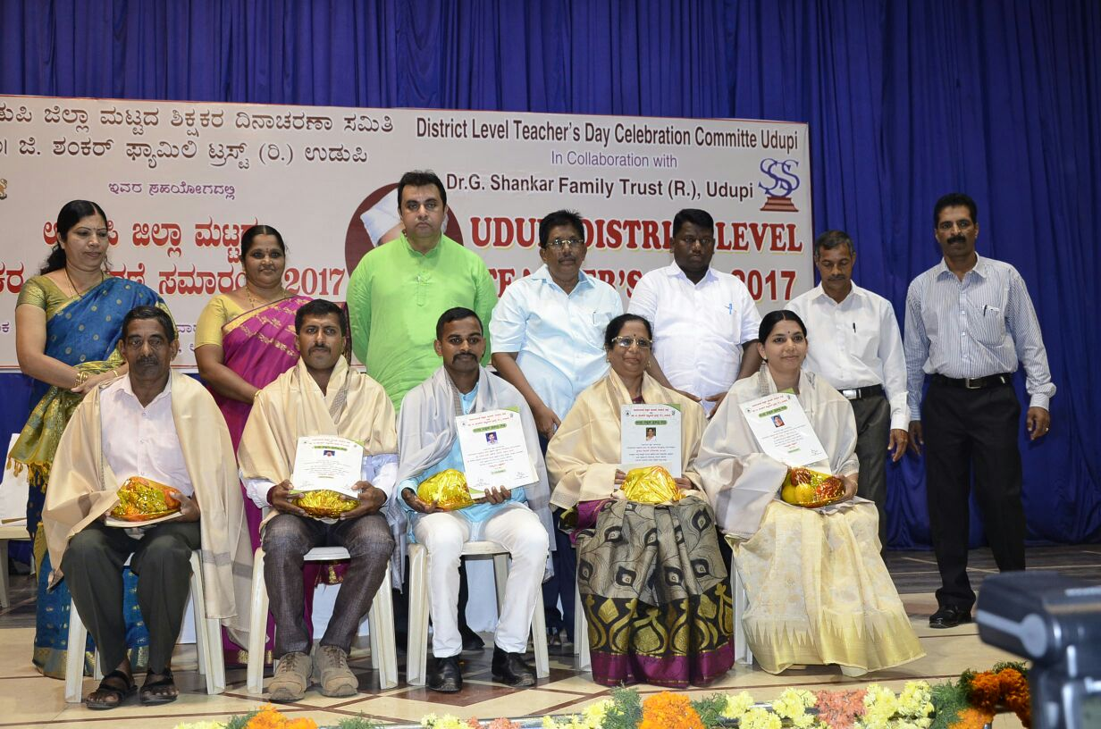 District level Best Teachers' Award ceremony held - Collin teacher of Milagres Awards among one of the best teacher