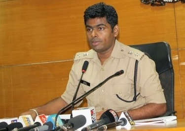 Maintaining law and order is the Police and district administration duty - K. Annamalai  SP