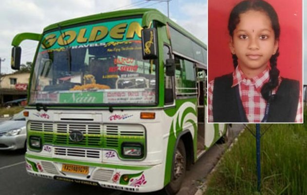 School Student Dies after Lorry Rams into Bike Near Kapu on NH 66
