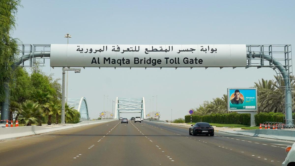 Abu Dhabi road toll charges only from New Year