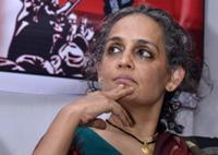 U.S. trying to use India to isolate Iran: Arundhati Roy