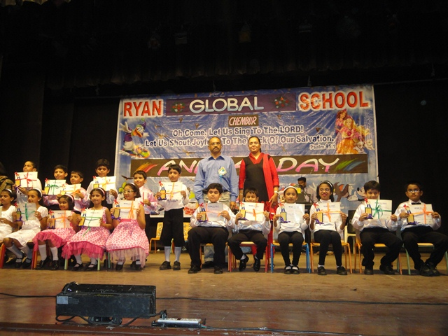 RYAN  GLOBAL  SCHOOL, CHEMBUR CELEBRATES THEIR FIRST ANNUAL  DAY