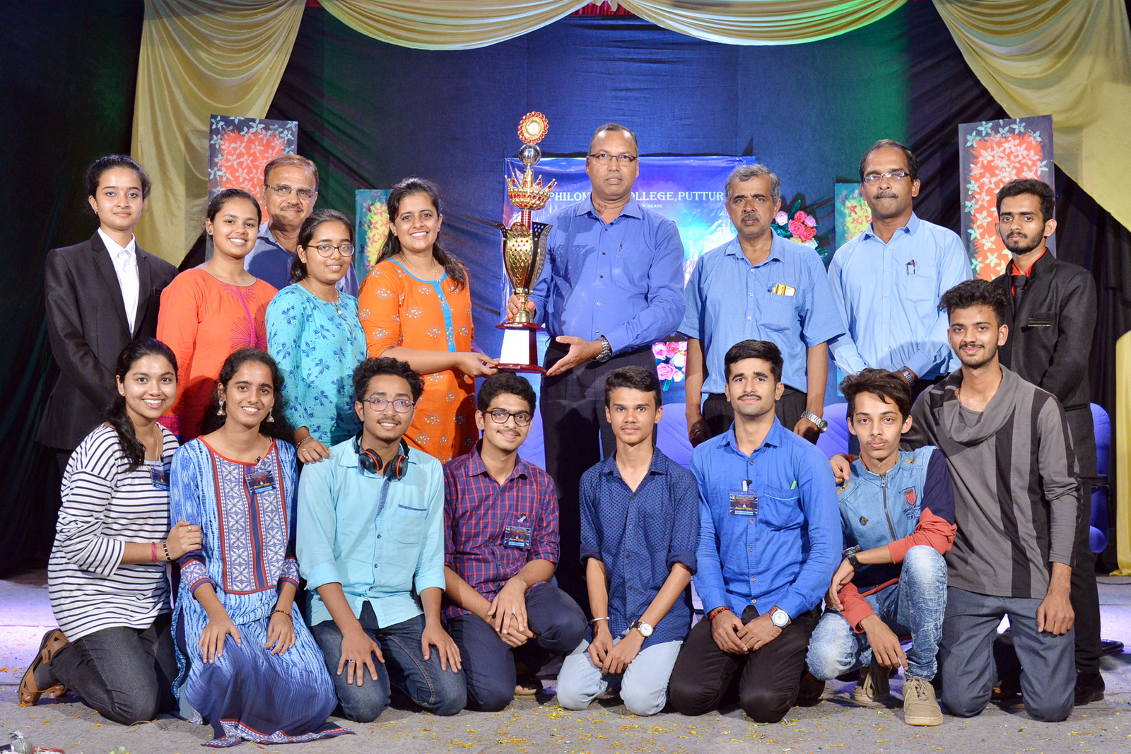 Science Fest 'AURORA- 2020' held at St Philomena College Puttur