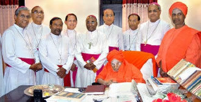 Church in India Mourns Passing Away of Shivakumara Swami