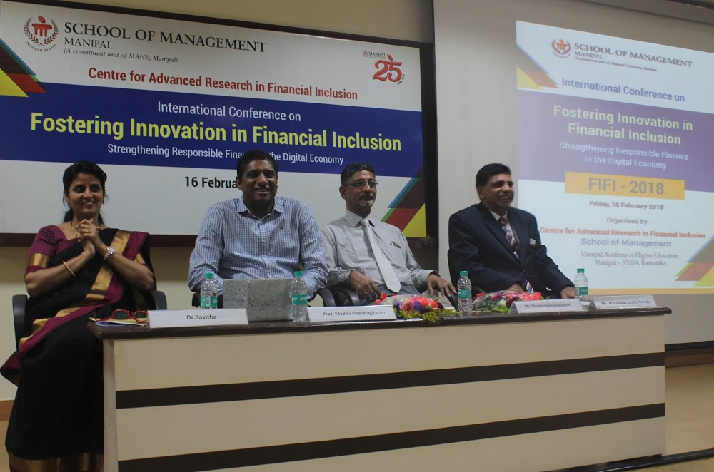 International Conference on Financial inclusion at School of Management
