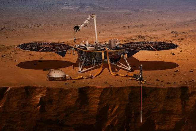 NASA launches InSight spacecraft to Mars to study Red Planet's quakes