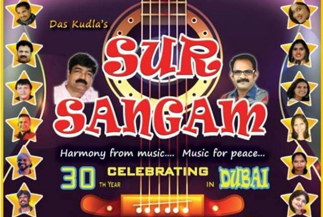 'SUR SANGAM' TO ENTHRALL MUSIC FANS ON JULY 6TH IN DUBAI