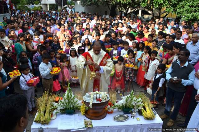 Feast of Nativity of Our Mother Mary Celebrations at St. Vincent Pallotti Church, Banasawadi, Bangalore