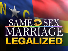 North Carolina: 16 Judges quit following state's legalization of gay marriage and More....